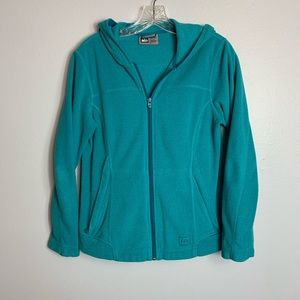 AWESOME REI FULL ZIP HOODIE SIZE SMALL